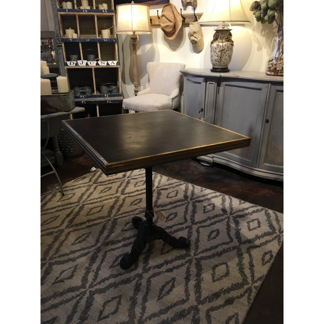 Vintage French Bistro Table For Sale - Image 10 of 13