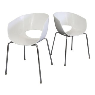 Sintesi of Italy Retro Orbit Designer Chairs - a Pair