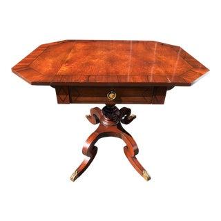Regency Style Rosewood & Ebony Pembroke Table