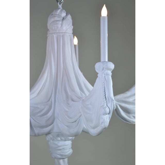 Sirmos Trompe l'Oeil Plaster Chandelier For Sale In Los Angeles - Image 6 of 8