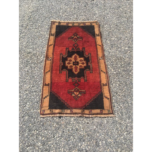Vintage Anatolian Turkish Rug - 2′ × 3′6″ - Image 2 of 6