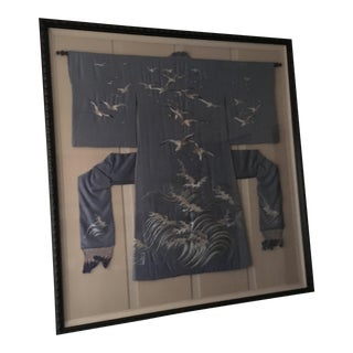 Antique Framed Kimono For Sale