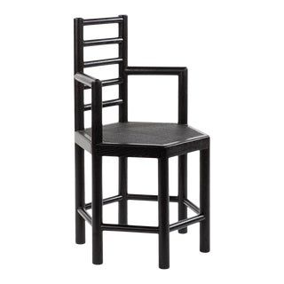 Tamarisk Chair in Black For Sale