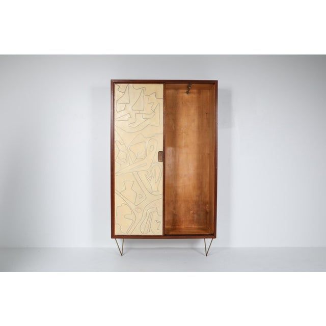 Postmodern Victor Cerrato One-Of-A-Kind Case Piece - 1950's For Sale - Image 3 of 8