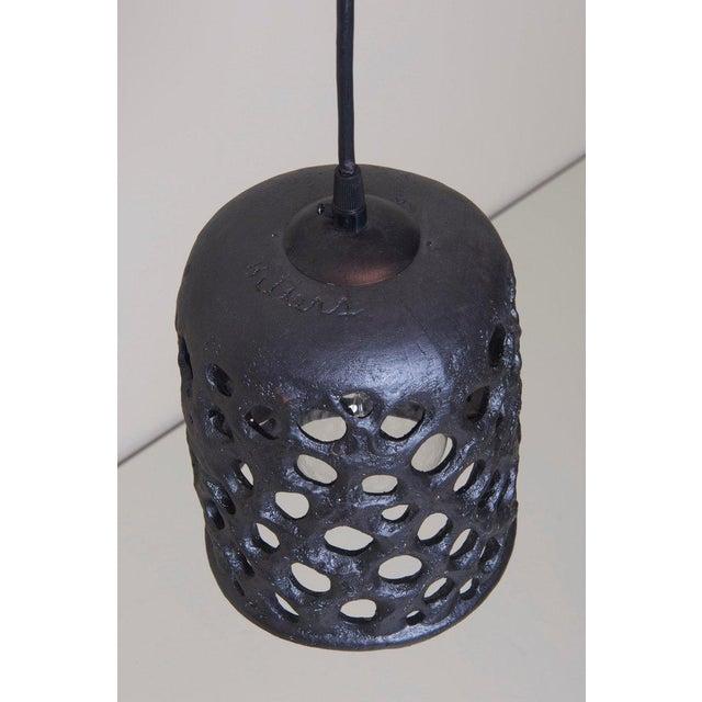 Mid-Century Modern Stan Bitters Lantern in Glazed Ceramic, Usa, 2017 For Sale - Image 3 of 5
