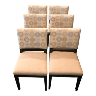 Modern Custom Dining Chairs - Set of 6 For Sale