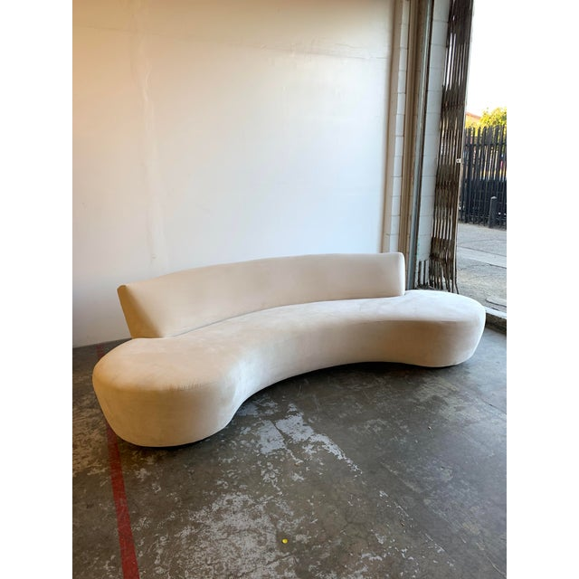 Mid Century Style Cloud Sofa For Sale - Image 13 of 13