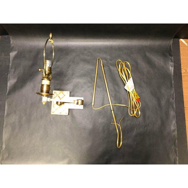 "Alexa Hampton ""Gene Swing Arm"" Wall Lamp for Visual Comfort For Sale - Image 9 of 10"
