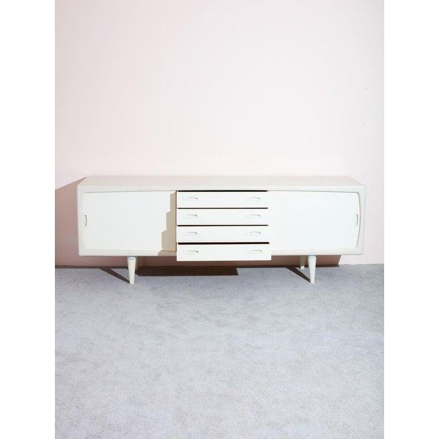 Danish Modern Vintage Danish Credenza For Sale - Image 3 of 9
