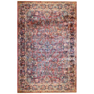 Fantastic Early 20th Century Antique Sarouk Rug For Sale