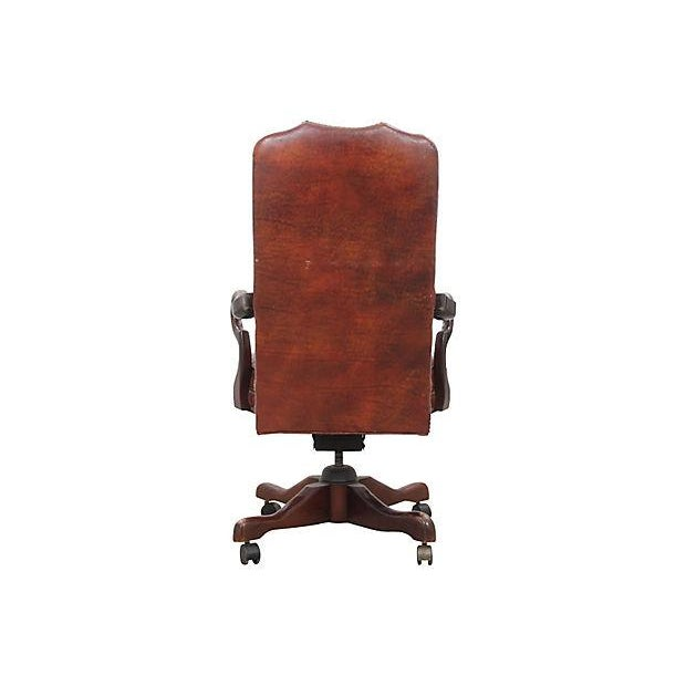 Leather Office Chair - Image 6 of 7