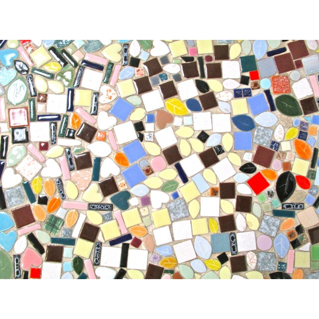 1960's Mosaic Tile Top Coffee Table - Image 5 of 6
