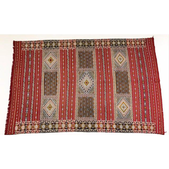 Moroccan Handmade Kilim Rug - 7′6″ × 11′6″ - Image 11 of 11