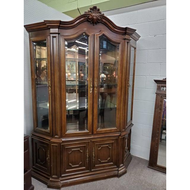 Vintage China Cabinet For Sale - Image 13 of 13