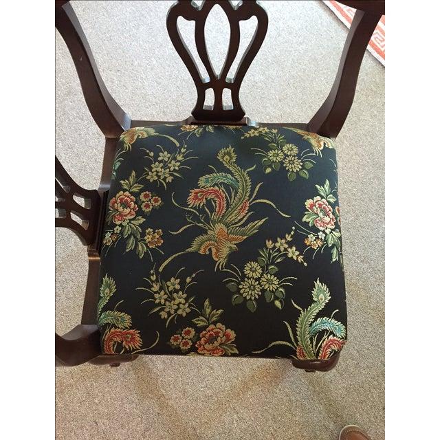 Vintage Ethan Allen Corner Chair - Image 4 of 5