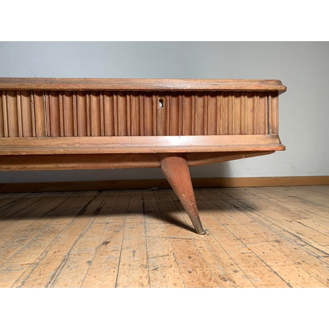 Illuminated Eugenio Diez Sideboard Cabinet For Sale - Image 11 of 13