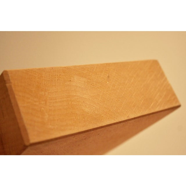 Japanese Sculptural Minimalist Wood Bowl - Image 6 of 6