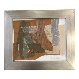 Framed Collage Original by Joe Adams For Sale