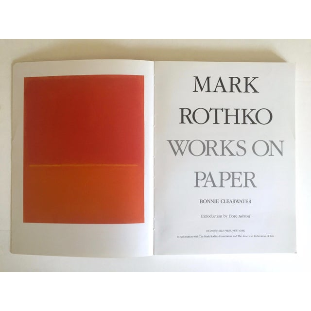 """This """" Mark Rothko : Works on Paper """" rare vintage 1984 first edition collector's Abstract Expressionist offset lithograph..."""