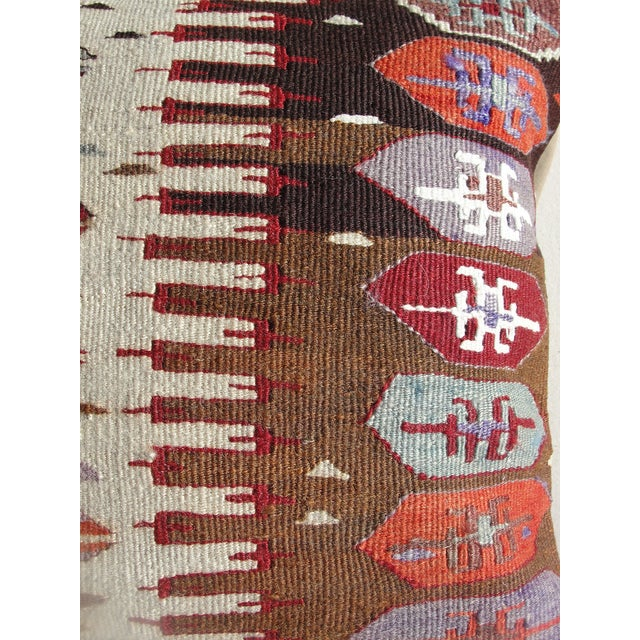 Kilim Rug Pillow For Sale - Image 5 of 11