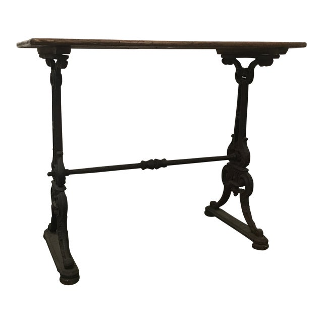 19th Century Antique French Bistro Table For Sale