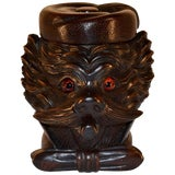 Image of 19th Century Black Forest Carved Humidor For Sale