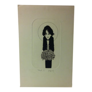"""Limited Edition Signed Numbered (5/100) Print, """"The Boyfriend"""" by Janice Howard For Sale"""