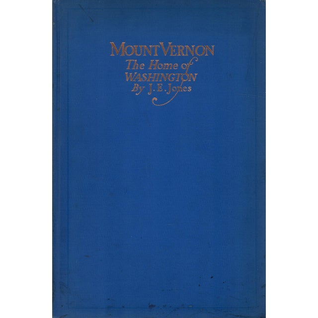 """1915 """"Mount Vernon: The Home of Washington"""" Collectible Book For Sale In Atlanta - Image 6 of 6"""