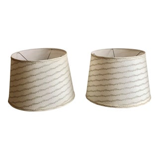 House of Harris Airlie Lampshades - a Pair For Sale