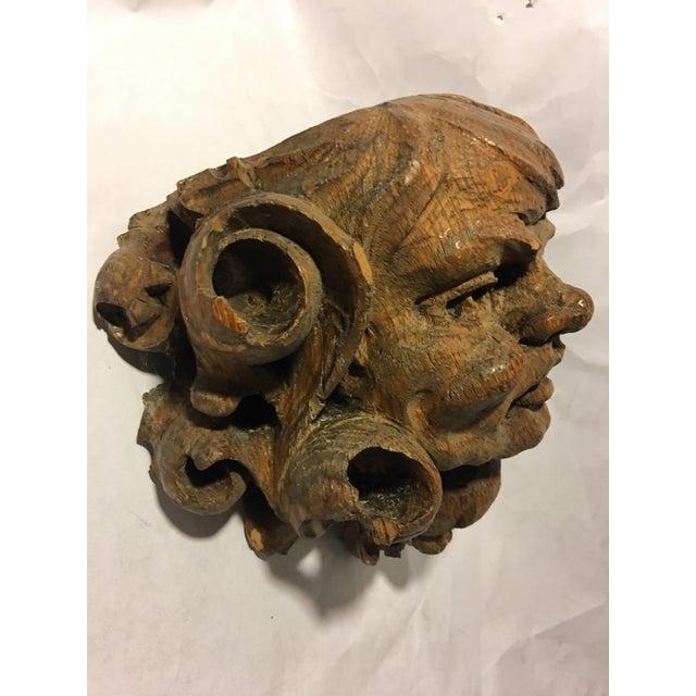 German Carved Oak Gargoyle - Image 7 of 9