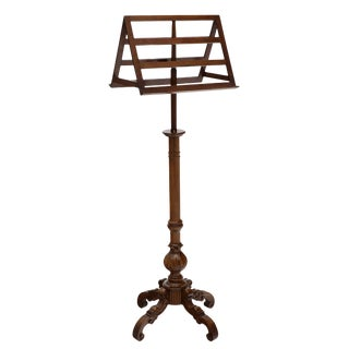 19th Century French Walnut Lectern For Sale