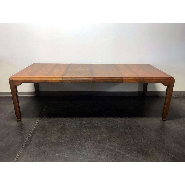CENTURY Chin Hua by Raymond K Sobota Asian Chinoiserie Dining Table For Sale - Image 9 of 11