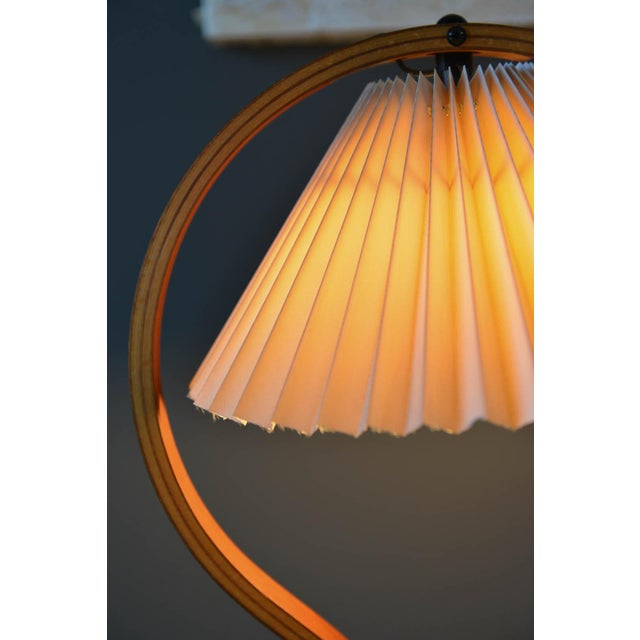 Bentwood Table Lamp by Caprani Light of Denmark, Circa 1971 For Sale - Image 11 of 12