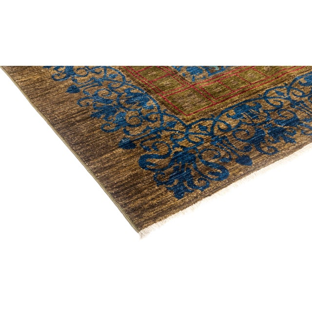 """Suzani Hand Knotted Area Rug - 12' 3"""" X 16' 3"""" - Image 2 of 4"""