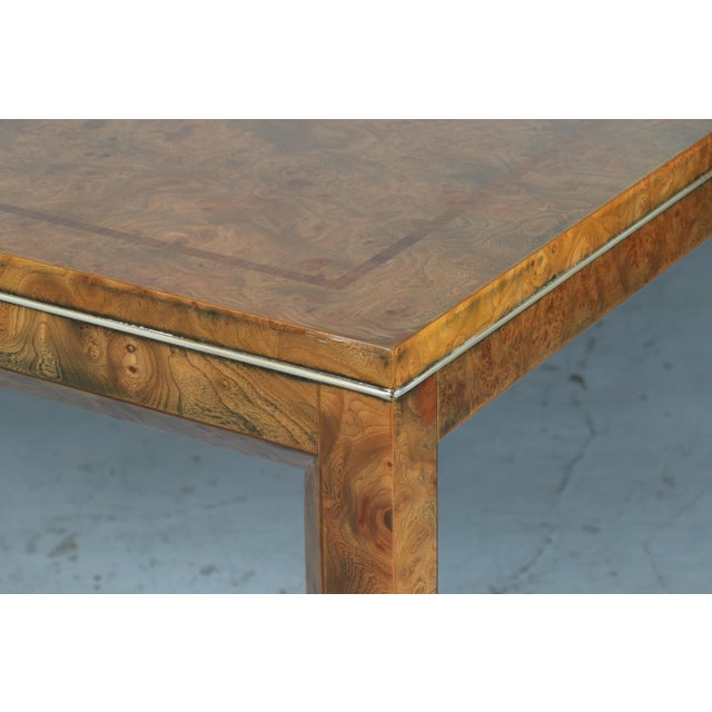 Master Burlwood Dining Table - Image 6 of 11