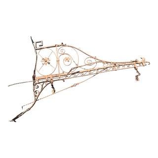 1920's Spanish Revival Iron Dragon Decorative Bracket For Sale