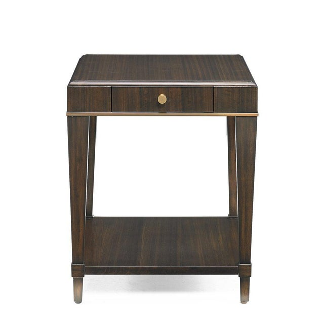 Kenneth Ludwig Chicago Capetown Square Side Table from Kenneth Ludwig Chicago For Sale - Image 4 of 5