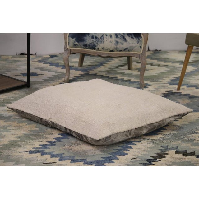 Floor Pillows are a popular way to help define seating areas in larger rooms. The contemporary style of this modern kilim...