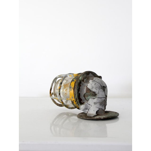 Nautical Vintage Boat Sconce For Sale - Image 3 of 7