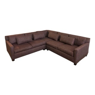 New Huntington House Custom 2300-Mod Luxe Sectional For Sale