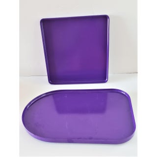 Mid-Century Modern Heller Iconic Dinnerware by Massimo Vignelli-Purple 26 Pieces Preview
