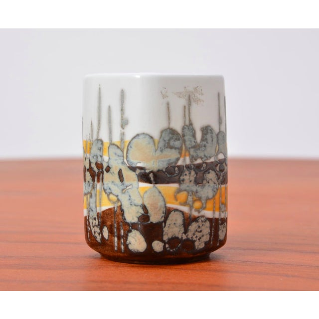 Danish Modern Small Baca Vase by Ivan Weiss for Royal Copenhagen, 1960s For Sale - Image 3 of 6