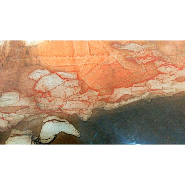 """Paper Ruth Rodman """"Reflection"""" Aquatint Etching For Sale - Image 7 of 9"""