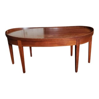 1950s Mid-Century Modern Mersman Duncan Phyfe Coffee Table For Sale