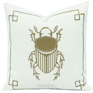 Silkscreen Bug Pillow Cover For Sale