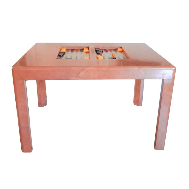 Karl Springer Game Table - Image 4 of 8