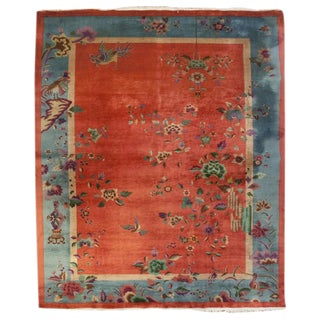 "Chinese Art Deco Rug - 105"" x 141"" For Sale"