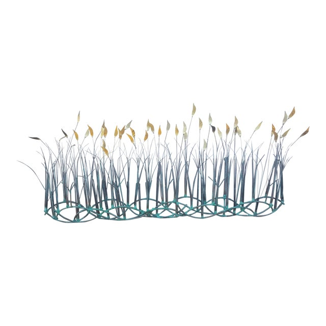 Sea Oats Wall Art Sculpture by Max Howard For Sale