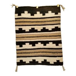 "Vintage Navajo Handmade Tribal Rug - 1'9"" X 2'3"" For Sale"