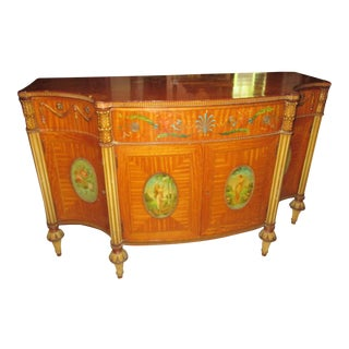 Irwin Italian Satinwood Buffet For Sale